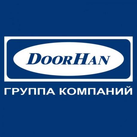 RG46B01 DoorHan Направляющий профиль RG46B01 под вставку-щетку белый (п/м)