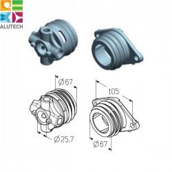 403120100 SF-67 Alutech Наконечники пружинные 67 мм (пара)