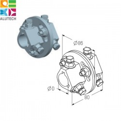 AC-1 Муфта соединительная (шт.) Alutech