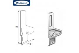 DH25161/BP DOORHAN Крышка профиля усилителя верхнего без покрытия (пара)