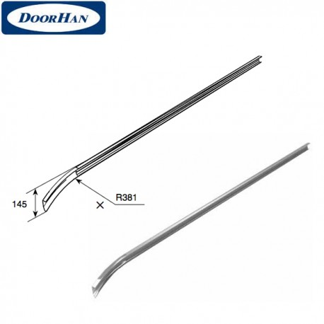 22989-4 DoorHan Изгиб укороченный (R-381) L-4310 для низкого подъема (пара)