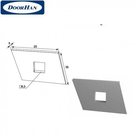 DH24619 DoorHan Закладная пластина