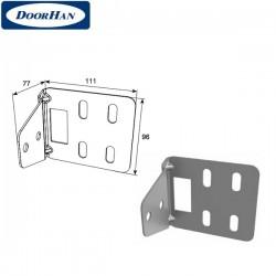 DH25239 DOORHAN Кронштейн угловой для соединения двойных направляющих и С-профиля (шт.)