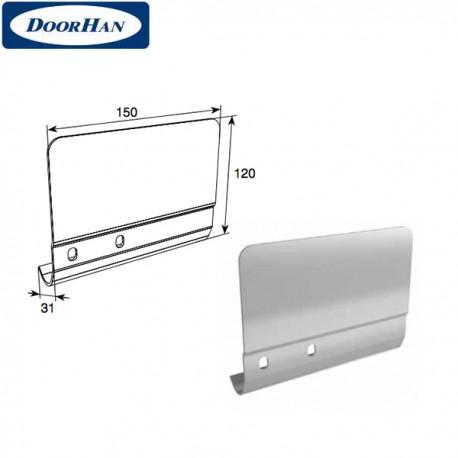 SPV-PT1R DoorHan Соединительная пластина 120мм для вертикальных направляющих правая