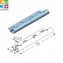 401240200 RP121 Alutech Накладка роликовая дуплексная промежуточная (шт.)