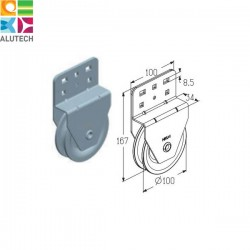 403900800 HKU001 Alutech Блок (шт.)