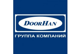 RK180R02 DoorHan Крышка боковая RK180R полукруглая коричневая (пара)