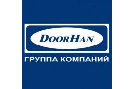 RK180R08 DoorHan Крышка боковая RK180R полукруглая серебристая (пара)