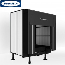 DHOUS45-3500(S) DOORHAN Тамбур перегрузочный стандартной серии 45 из с/панелей L-3500 (шт.)