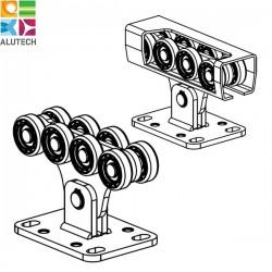 SGN.01.150 Alutech Опора роликовая (стальные ролики) для ворот до 450 кг. (шт)