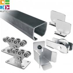 SG.02 Alutech Система роликов и направляющих для ворот весом до 500 кг (шт)