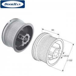 DH11001 DOORHAN Барабан DH11001 (М102, Н2750) для стандартного подъема (пара)