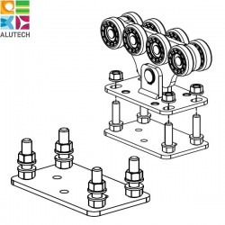SG.01.200 Alutech Подставка для системы до 500 кг (шт)