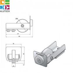 SG.02.300 Alutech Ролик концевой для шины SG.02.002, SG.02.001 (шт)