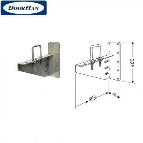 DHK13010 DoorHan Кронштейн выносной для низкого вала левый в сборе с элементами крепежа