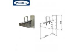 DHK13010 DOORHAN Кронштейн выносной для низкого вала левый в сборе с элементами крепежа (шт.)