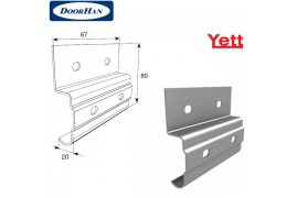Y121 DoorHan Кронштейн соединительный для вертикальных направляющих ROL38