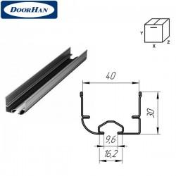 Y42S DoorHan Профиль нижний стальной для гаражных секционных ворот (п/м)