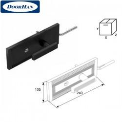 25074KN DoorHan Комплект замка одностороннего для секционных ворот ISD
