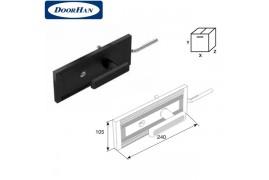 25074KN DOORHAN Комплект замка одностороннего для секционных ворот ISD (комплект)