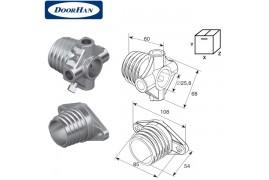 DH1001 DOORHAN Окончание пружины М 45 на вал ф 1 (пара)