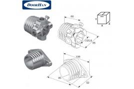 DH12003 DOORHAN Окончание пружины М 50 (пара)