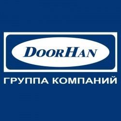 """AHDS3520062 Профиль алюм. """"Крышка привода DoorHan автоматических дверей"""" L-6200 RAL8014 коричневый глянцевый"""