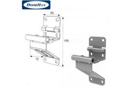DH25234 DOORHAN Боковая опора с держателем ролика для панелей с защитой от защемления пальцев модифицированная (шт.)