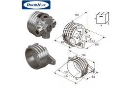 DH12001 DOORHAN Окончание пружины М 95 (пара)