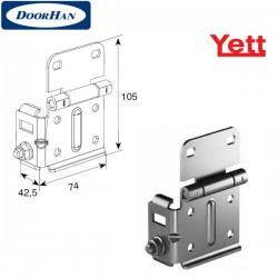 Y313N/RAL9003 DoorHan Боковая опора регулируемая (пара)