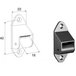 RL02 DoorHan Направляющая для ленты RL02 коричневая