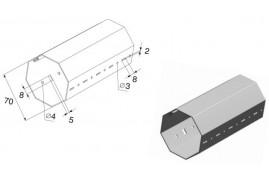 RV70 DoorHan Вал октогональный RV70x1.2 (п/м)