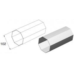 RV102 DoorHan Вал октогональный RV102x2.5 (п/м)