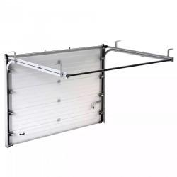 RSD01SC-1W-2500х2115Dsk Ворота секционные серии RSD01SС №1 ширина 2500 высота 2115 доска, белые DoorHan