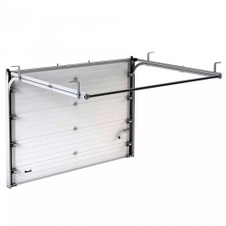 RSD01SC-1W-2500х2115 Ворота секционные серии RSD01SC №1 ширина 2500 высота 2115 белые DoorHan