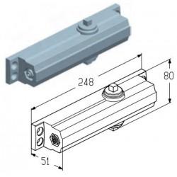 DP0207  Доводчик дверной (шт.) Alutech