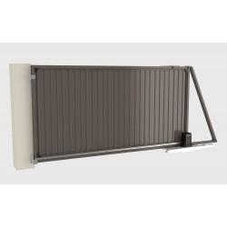 Комплект сдвижных ворот  Revolution 4500х2200 RAL8017 DoorHan DHPN-4500x2200/RAL8017