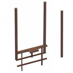 Рама стандартная ОЯС (основание, якорь, столбы) под бетонирование. Ширина проема 3000-5000 DoorHan DHS100/8017