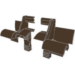 RU6502 DoorHan Устройство направляющее RU6502 коричневое (пара)