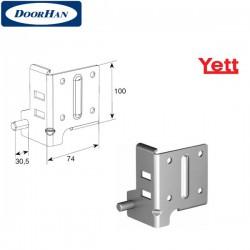 Y314N/RAL9003 DoorHan Нижний угловой кронштейн (пара)
