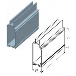 PRD12-7000  Профиль воротный, цвет - A00-D6 (м) Alutech