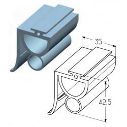 IS04  Вставка уплотнительная (м) Alutech