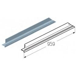 WD403R.203  Обрамление верха калитки, цвет - A00-D6 (шт.) Alutech
