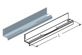 WD260LA.202  Обрамление калитки среднее, цвет - RAL8019 (шт.) Alutech