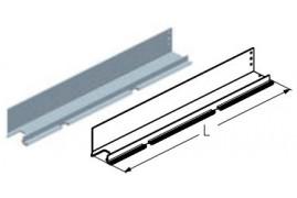 WD250L.201  Петля калитки средняя, цвет - RAL8019 (шт.) Alutech