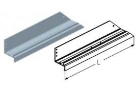 WD151L.202  Обрамление калитки нижнее, цвет - RAL8019 (шт.) Alutech