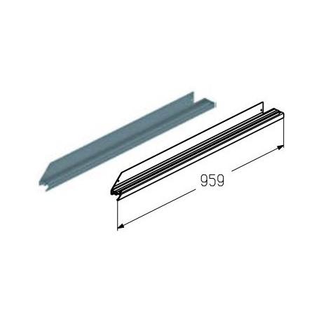 WD-153R.203  Обрамление низа калитки, цвет - A00-D6 (шт.) Alutech