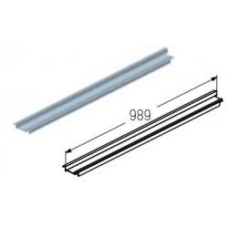 WD403R.103  Обрамление верха проема, цвет - A00-D6 (шт.) Alutech