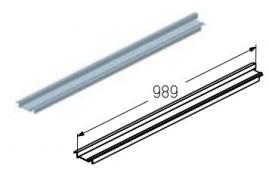 WD403R.103  Обрамление верха проема, цвет - RAL8019 (шт.) Alutech