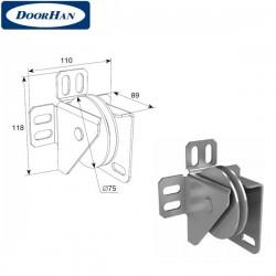 DH24628 DOORHAN Кронштейн шкива концевой усиленный (пара)